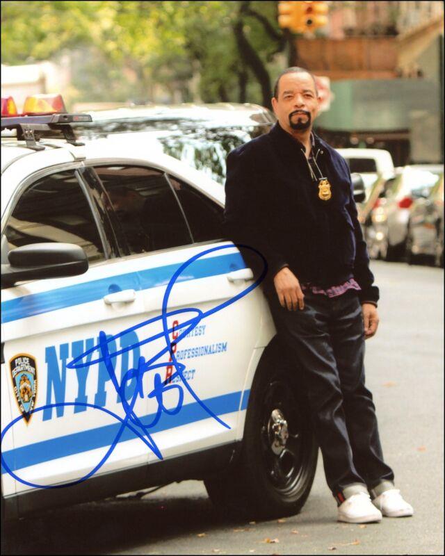 "Ice T ""Law & Order: SVU"" AUTOGRAPH Signed 8x10 Photo E ACOA"