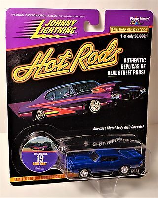 Johnny Lightning Hot Rods Goin' Goat 1970 GTO series 1 for sale  Shipping to Canada