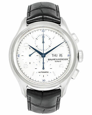 Baume Mercier Clifton Chronograph Automatic Mens Watch MOA10123