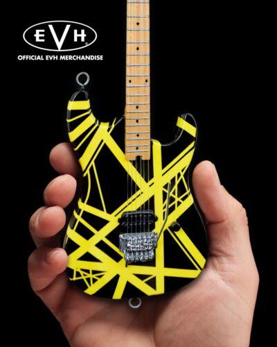 EVH Bumblebee Eddie Van Halen Collectible Mini Guitar