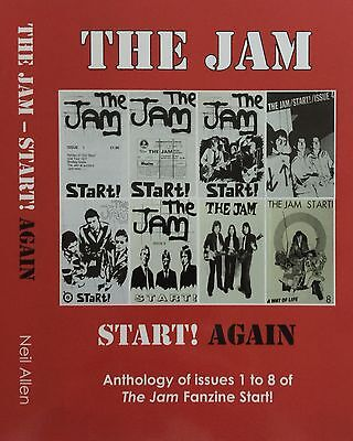 THE JAM - START! AGAIN - BOOK, PAUL WELLER, MOD, THE WHO