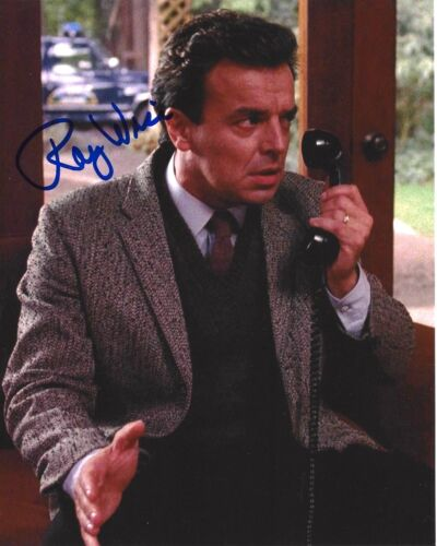 ACTOR RAY WISE SIGNED TWIN PEAKS 8x10 PHOTO W/COA ROBOCOP SWAMP THING LELAND