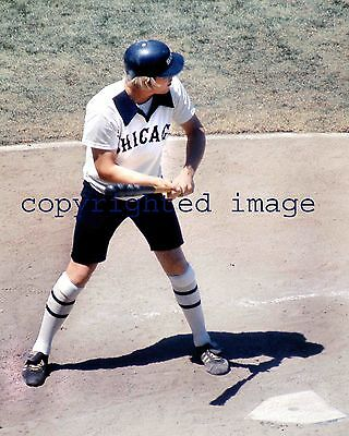 Kevin Bell 1977-81 White Sox Comiskey Park in shorts  Color  8x10 A