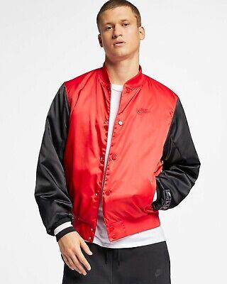 Schwarze Herren Activewear (Nike Sportkleidung Luft Gewebte Jacke Herren Rot Schwarz Weiß Active Wear)