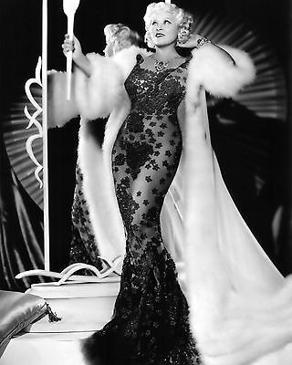 Mae West Actress And Sex Symbol   8X10 Publicity Photo  Bb 848