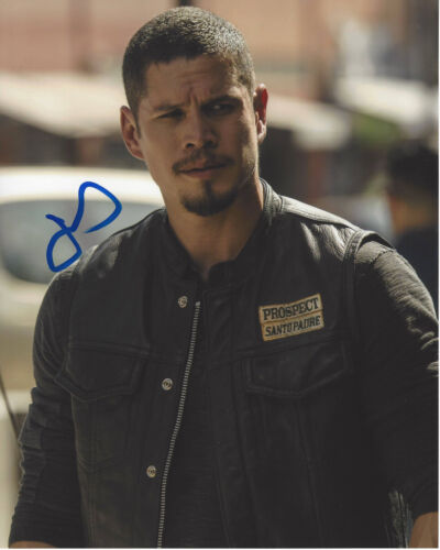 JD PARDO SIGNED AUTHENTIC 'MAYANS M.C.' 8X10 PHOTO C w/COA ACTOR SONS OF ANARCHY