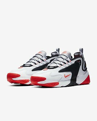 Nike Zoom 2K Men's Shoes White/Wolf Grey-Black-Infrared 23 Sz 11 AO0269 105