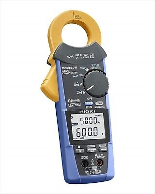 Hioki Cm4372 True-rms Clamp 1000vac1500vdc600a Frequency Resistance Bluetooth