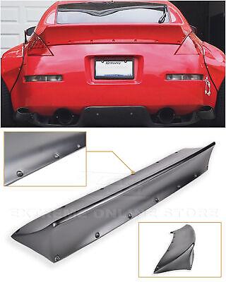 For 03-08 Nissan 350Z | Bunny Style Primer Black Ducktail Rear Trunk Lid Spoiler Nissan 350z Rear Spoiler