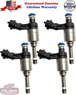 4x Genuine Hyundai 2012-2017 Accent Soul Rio 1.6 GDI Fuel Injectors Flow Matched