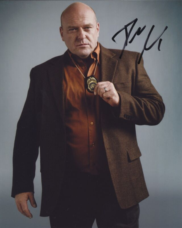 DEAN NORRIS SIGNED BREAKING BAD 8X10 PHOTO 2