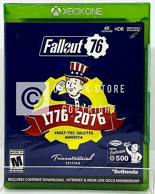 Fallout 76 Tricentennial Edition - Xbox One - Brand New | Factory Sealed
