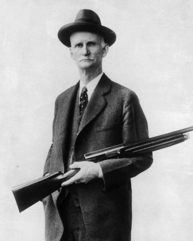 New 11x14 Photo: John Moses Browning, American Inventor and Firearms Designer