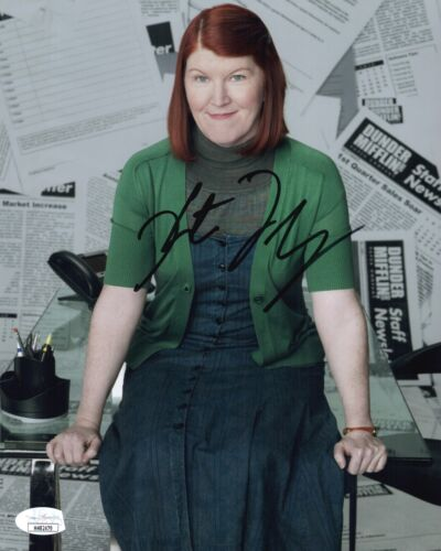 KATE FLANNERY Hand Signed 8X10 THE OFFICE Photo IN PERSON Autograph JSA COA Cert