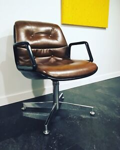 Charles Pollock vintage office chair