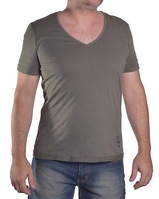 Armani Jeans Men's $65 Verde V-Neck Casual Shirt Size