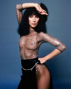 Cher Beautiful Singer, Movie Actress & Model 8x10 Glossy Color Photo