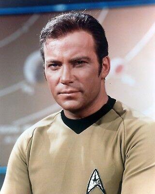 William Shatner Star Trek Kirk 8X10 Color Print Photo Tv Television Memorabilia