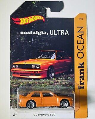 Hot Wheels Custom Frank Ocean Nostalgia Ultra BMW M3 E30