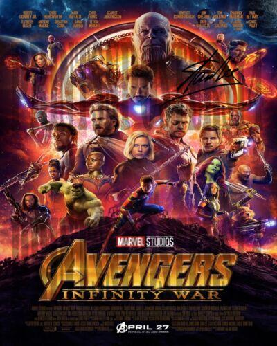 Stan Lee 11x14 SIGNED REPRINT Poster Marvel Comics Avengers #2