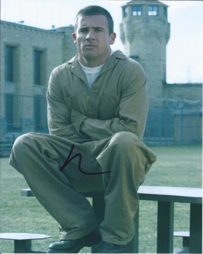 Dominic Purcell Signed Autographed 8x10 Photo The Flash Prison Break 1E
