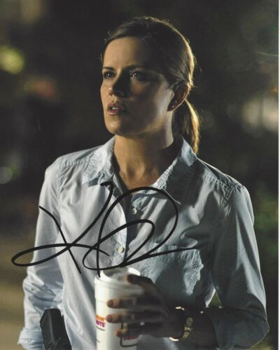 ACTRESS KIM DICKENS SIGNED 'GONE GIRL' 8x10 MOVIE PHOTO w/COA HOUSE OF CARDS