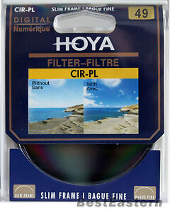 Genuine Hoya 49mm Slim CPL Circular Polarizing / Polarizer CIR-PL Digital Filter