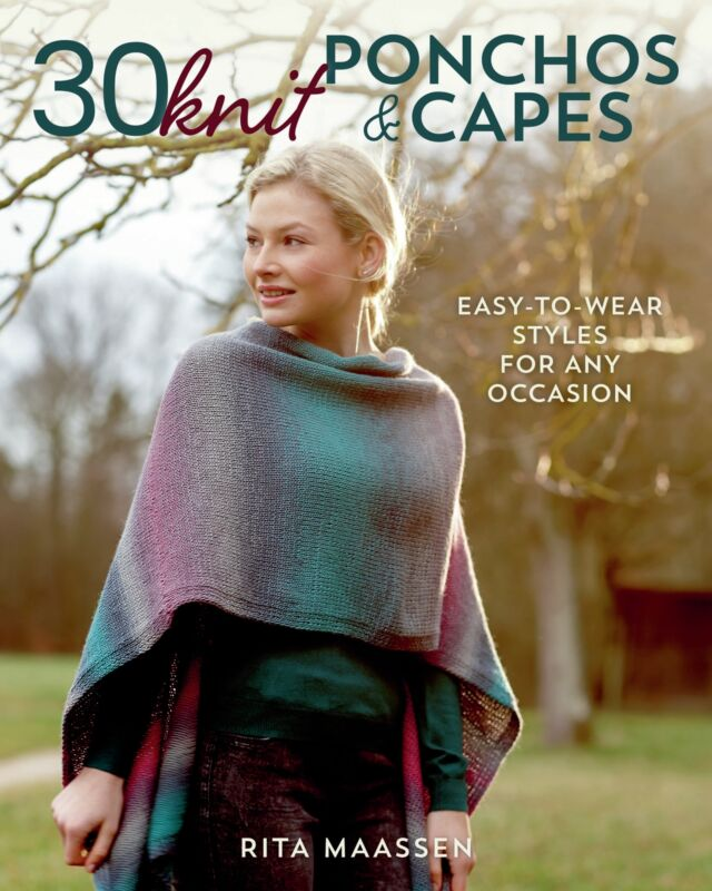 Stackpole Books-30 Knit Ponchos And Capes