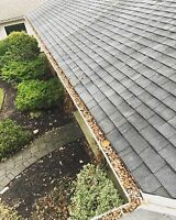 Eavestrough Clear Out