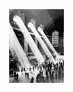 Grand Central Station Art Print Wall Poster 24x30cm
