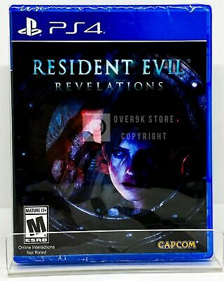 Resident Evil: Revelations - PS4 - Brand New | Factory Sealed