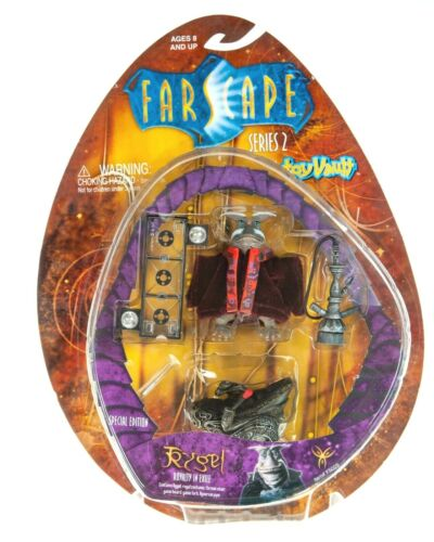 NEW RARE Farscape RYGEL ROYALTY IN EXILE Toy Vault Series 2 ACTION FIGURE