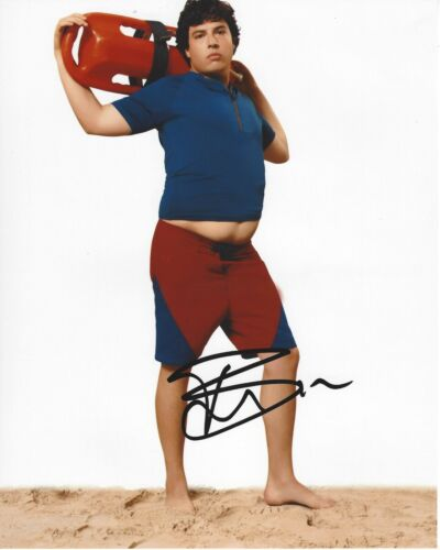 ACTOR JON BASS SIGNED BAYWATCH MOVIE 8x10 PHOTO W/COA MIRACLE WORKERS