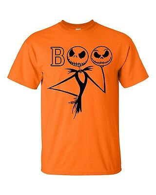 Nightmare before Christmas T-Shirt Jack Skellington Pumpkin King Halloween