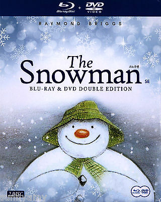 The Snowman - Raymond Briggs [2 Disc Set 1 Blu Ray Disc 1 DVD Disc] (New)