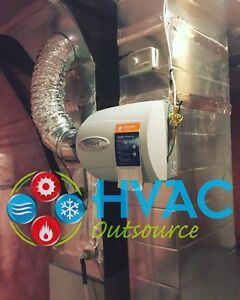 Humidifier installed -