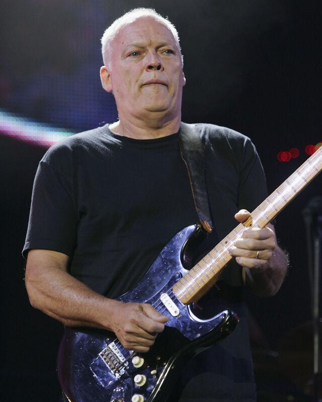 David Gilmour - Pink Floyd, 8x10 Color Photo