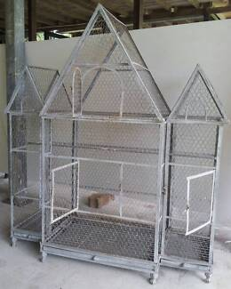 Gal Steel Bird Cage Deeral Cairns Surrounds Preview