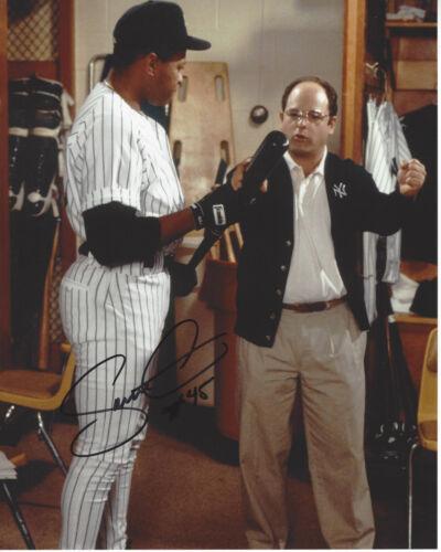 NEW YORK YANKEES DANNY TARTABULL SIGNED AUTHENTIC 'SEINFELD' 8X10 PHOTO 1 w/COA