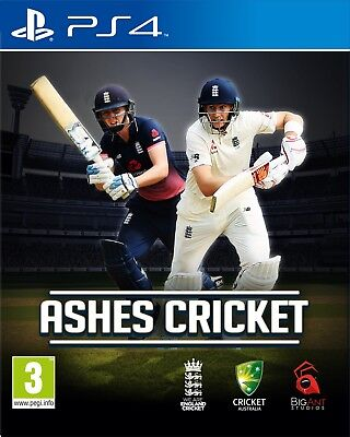 Ashes Cricket (PS4)  NEW AND SEALED - IN STOCK - QUICK DISPATCH - FREE UK POST