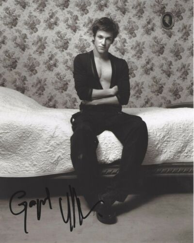 ACTOR GASPARD ULLIEL SIGNED 8X10 PHOTO B W/COA IT'S ONLY THE END OF THE WORLD