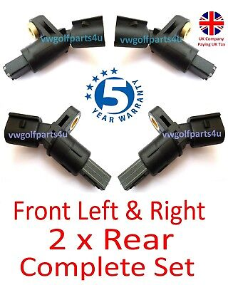 VW AUDI Front & Rear ABS Speed Sensor Left & Right o/s n/s MK4 Golf A3 TT SEAT