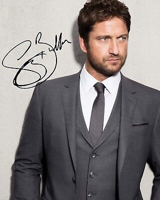 GERARD BUTLER #1 - 10x8 PRE PRINTED LAB QUALITY PHOTO PRINT - FREE DELIVERY