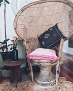 Peacock chair for HIRE Mitchelton Brisbane North West Preview