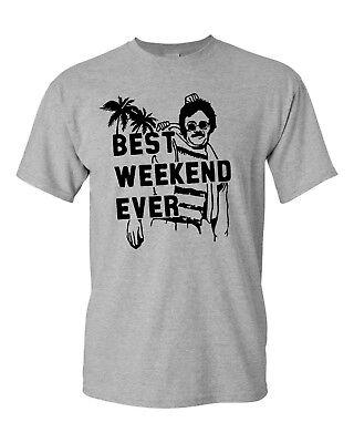 Best Weekend Ever Weekend at Bernies Funny Men's Tee Shirt