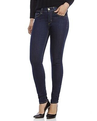 Nwt Anthropologie Mcguire Denim Dark Newton Skinny Mid Rise Jeans $238 Sz 32