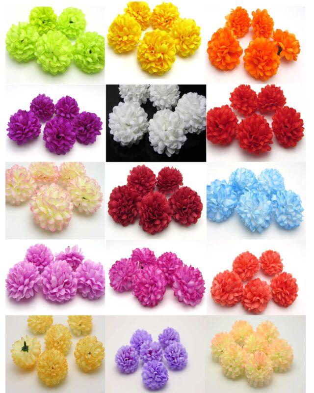 30pcs Daisy Fake Silk Spherical Heads Bulk Flower peony heads wedding decoration