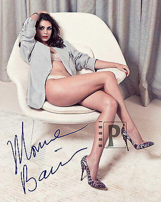 Morena Baccarin 8 X 10  Signed Sexy Color Photo Reprint