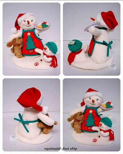 """Hallmark Jingle Pals Christmas 2015 """"TIME FOR COOKIES"""" w/Sound & Motion ~ Used"""