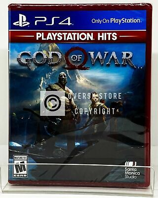 God of War - Playstation Hits - PS4 - Brand New | Factory Sealed